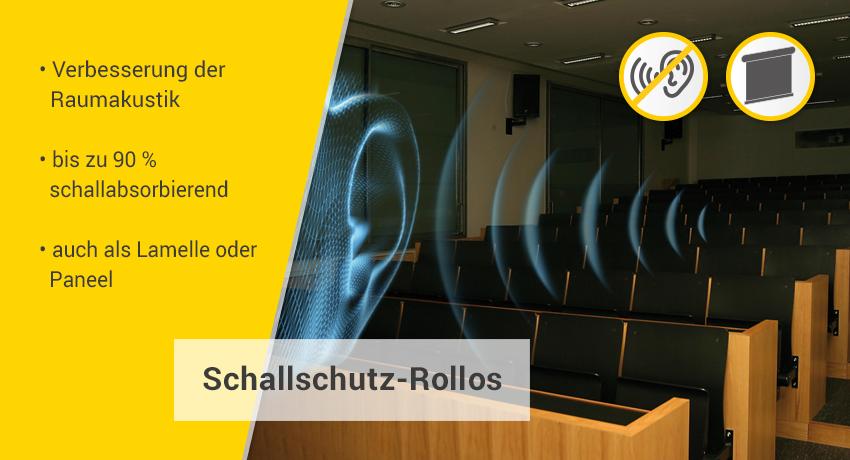 Schallschutz-Rollos Kategorie-Banner