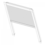 Thumb 1 - COSIFLOR®-Wabenplissee Dachfenster Comfort