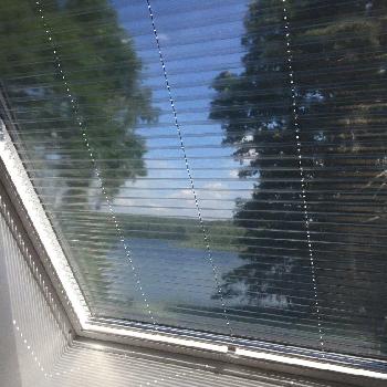 Dachfenster Folienplissee
