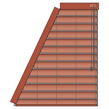 Holz-Jalousie 50 S11