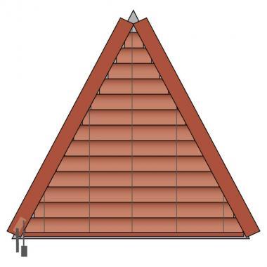 Holz-Jalousie 25 S4