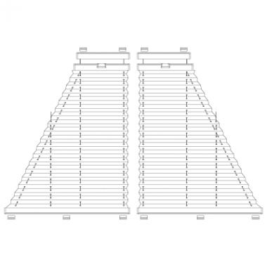 Plafond-Plissee S11/S12