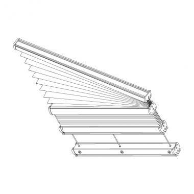 Plafond-Plissee S2/S3
