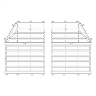 Plafond-Plissee S6/S7