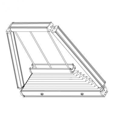 Plafond-Plissee S8