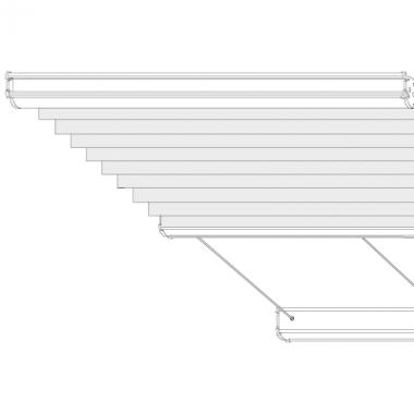 COSIFLOR®-Wabenplissee Plafond