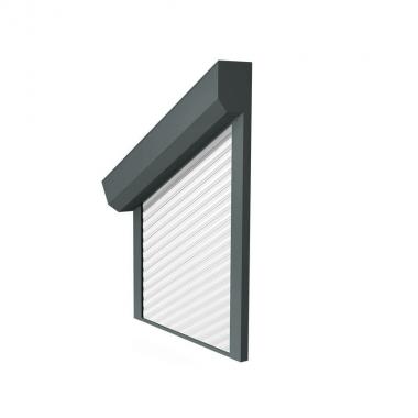 Vorbaurollladen schräg – Kasten 45°